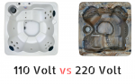 110 vs 220 hot tub