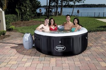 SaluSpa Miami AirJet 4 person Inflatable Hot Tub