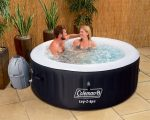 Coleman SaluSpa 4-Person Inflatable Spa Hot Tub
