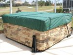 CoverMates – Square Hot Tub Cover