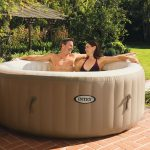 Intex 77-Inches PureSpa Portable Spa Set