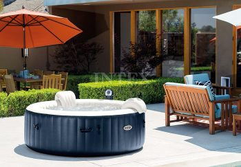 Intex Pure Spa Inflatable Portable Heated Bubble Hot Tub