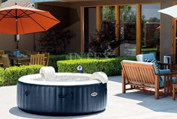 Intex Pure Spa Inflatable Portable Hot Tub 28409E