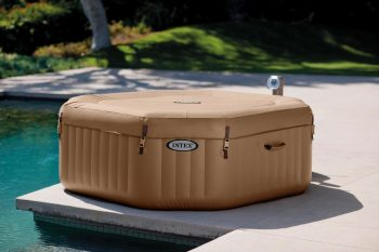 Intex PureSpa Bubble Massage Portable Hot Tub