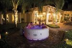 SaluSpa Paris AirJet Inflatable Hot Tub with Leds
