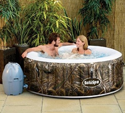 SaluSpa Realtree MAX-5 AirJet Portable Hot Tub Spa