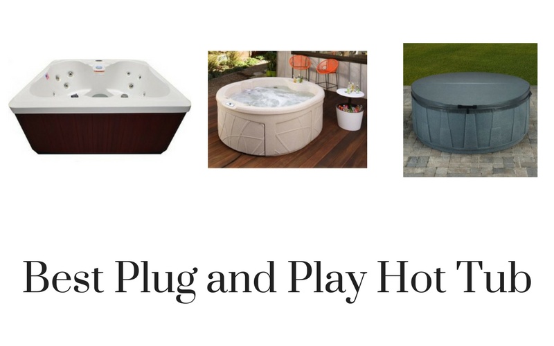 top 11 best plug and play hot tub reviews in 2018. Black Bedroom Furniture Sets. Home Design Ideas