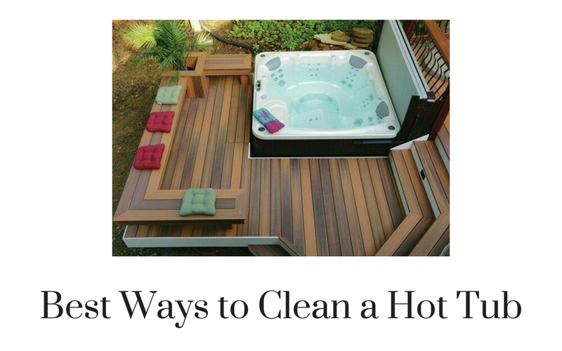 Beautiful best way to clean a hot tub contemporary for Best way to clean bathroom