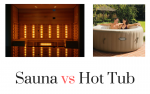 Sauna vs Hot Tub