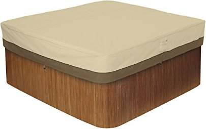 Classic Accessories 55-585-011501-00 Veranda Square Hot Tub Cover