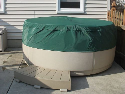 CoverMates – Round Hot Tub Cover – Cap 80DIAMETER x 14H