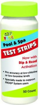King Technology 01143318 Frog Test Strips for Pool or Spa