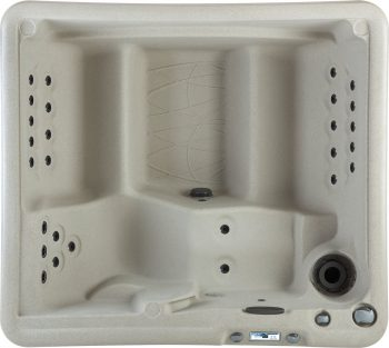 Retreat DLX 5-Person 28-Jet Plug and Play Spa with Waterfall and Ozone System