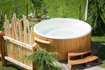 Whirlpool Hot Tub Garden Summer