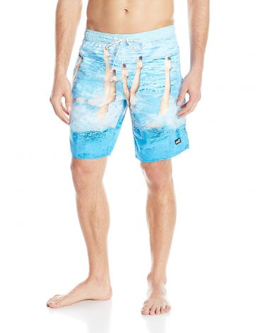 NEFF Men's Hot Tub Swim Board Short