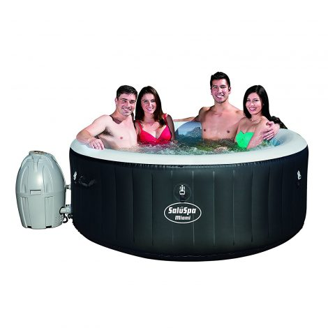 SaluSpa Miami AirJet 4 person Blow Up Hot Tub