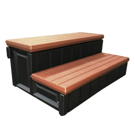 Spa Step with Storage Compartment