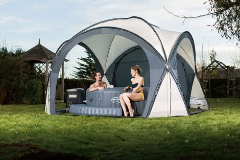 hot tub tent enclosure