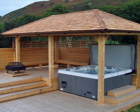 hot tub top closure