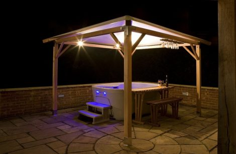 hot tub topper enclosure