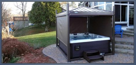 portable hot tub enclosures