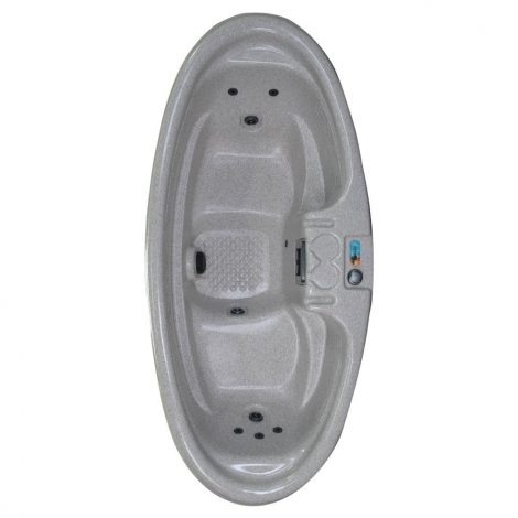 QCA Spas Model 0 Gemini Plug and Play Hot Tub, 92 by 42 by 29-Inch