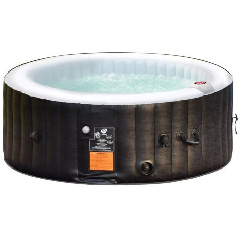 cheap Goplus 4 Person Portable Inflatable Hot Tub