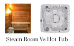 steam room vs hot tub