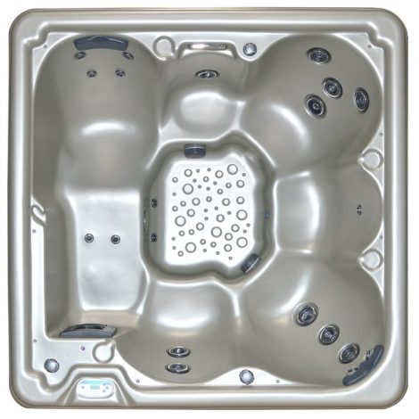 6-Person 21-Jet Plug and Play Hot Tub - A Feature-Packed Hot Tub for Four People